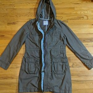 Old Navy womans trench coat jacket